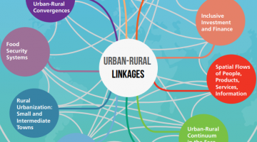 UN Habitat publishes paper with 10 entry points to urban-rural linkages